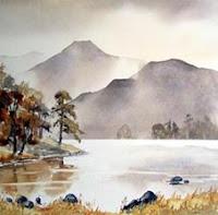 Blea Tarn e painting