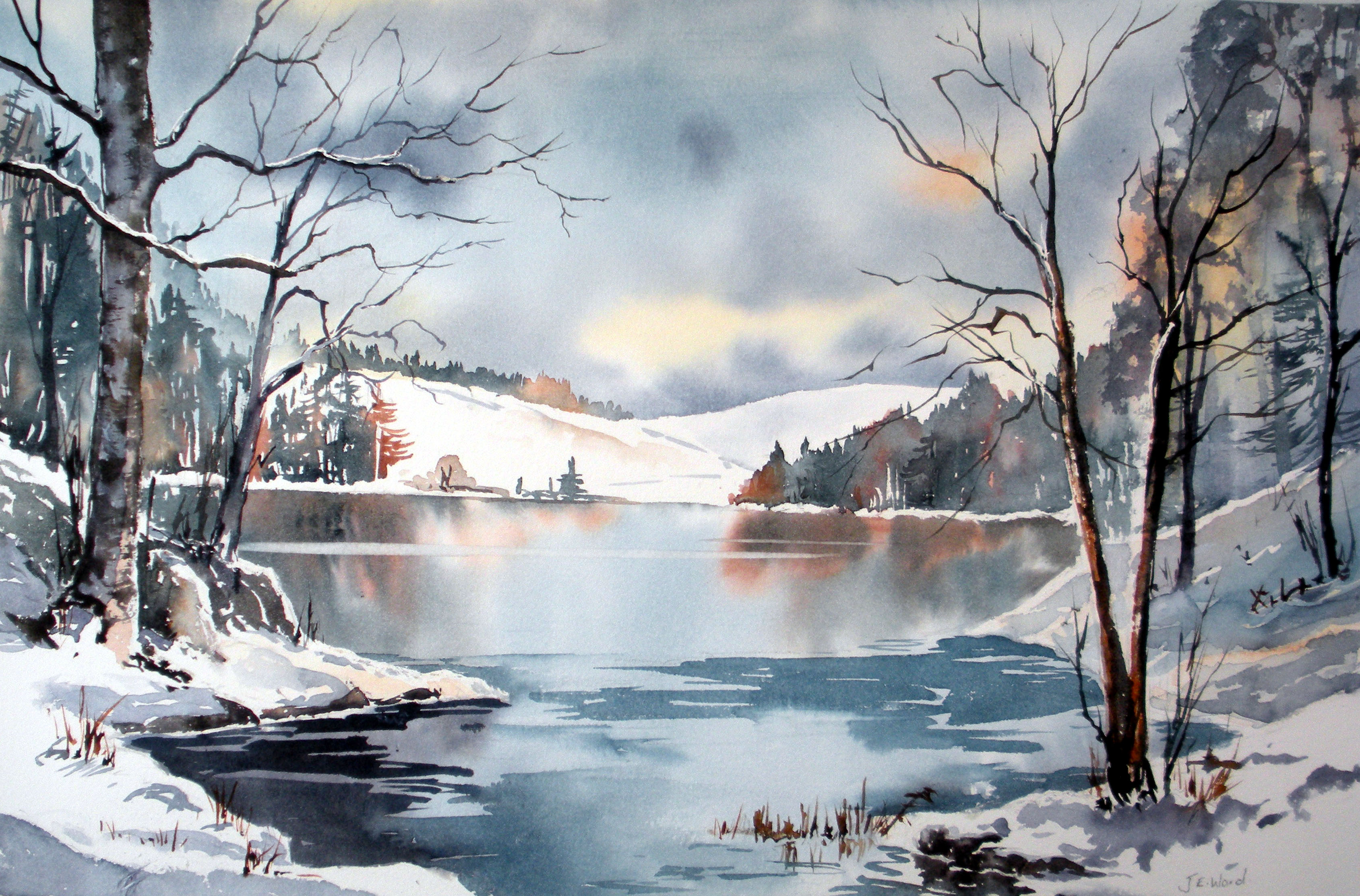 Online Watercolour Course Jane Ward Artist