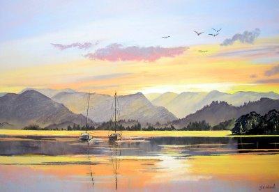 Evening Sail, Ullswater