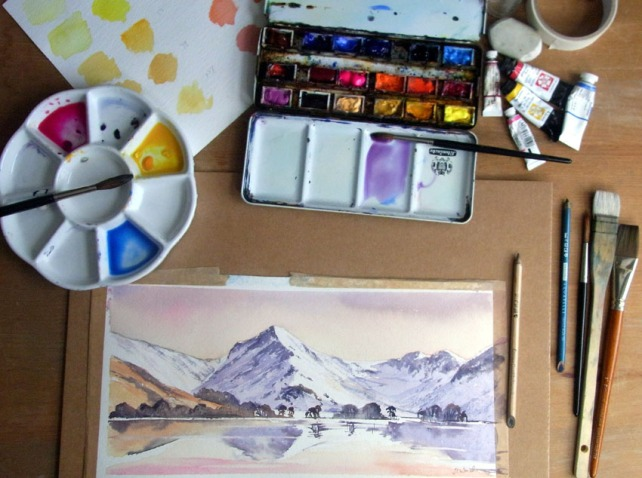 Learn to paint Watercolours
