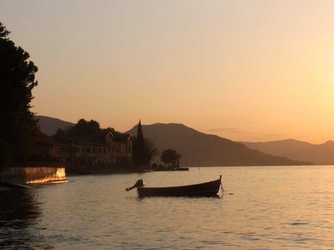 Sunset, Lake Iseo