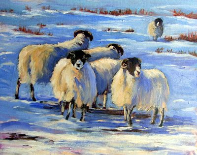 Winter Flock c