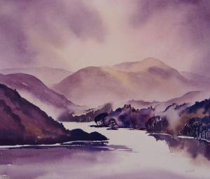 Ullswater watercolour