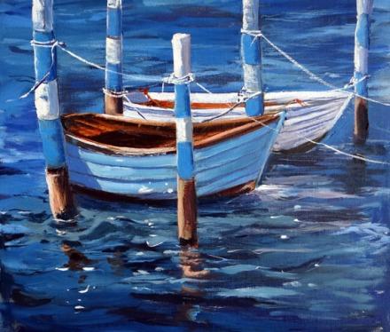 Blue Boat