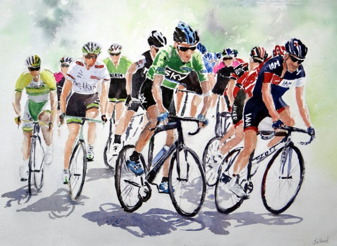 Green Jersey, Chris Froome c