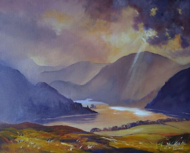 Ray of light, Ullswater