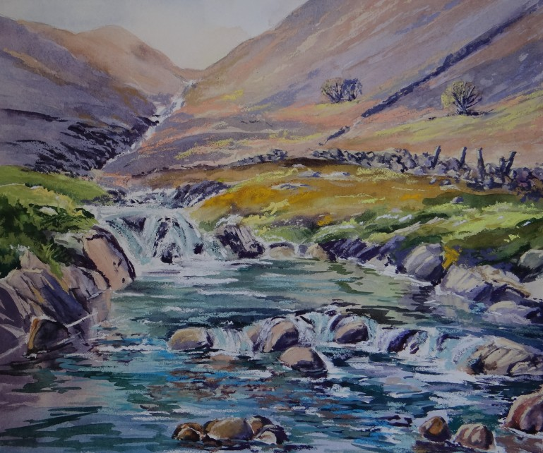 Bubbling Beck, Seathwaite