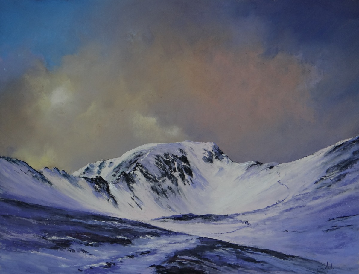 Helvellyn, Lake District Original painting