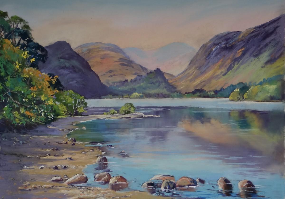 Derwentwater painting