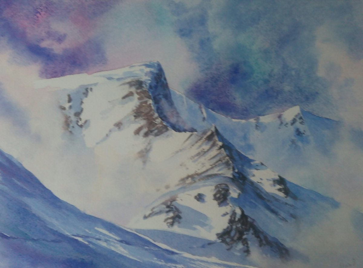 Sharp Edge watercolour