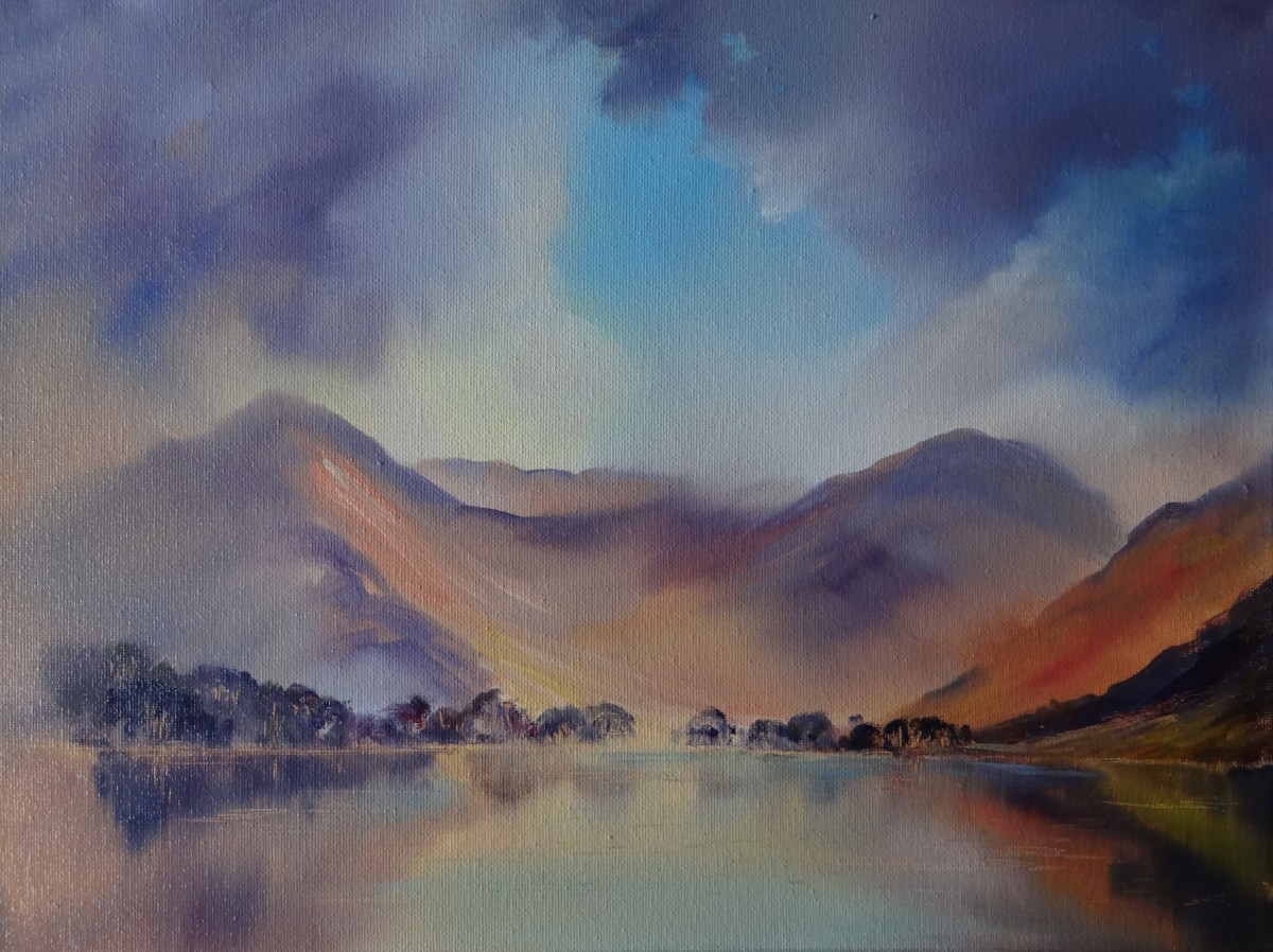 Buttermere Oil Canvas