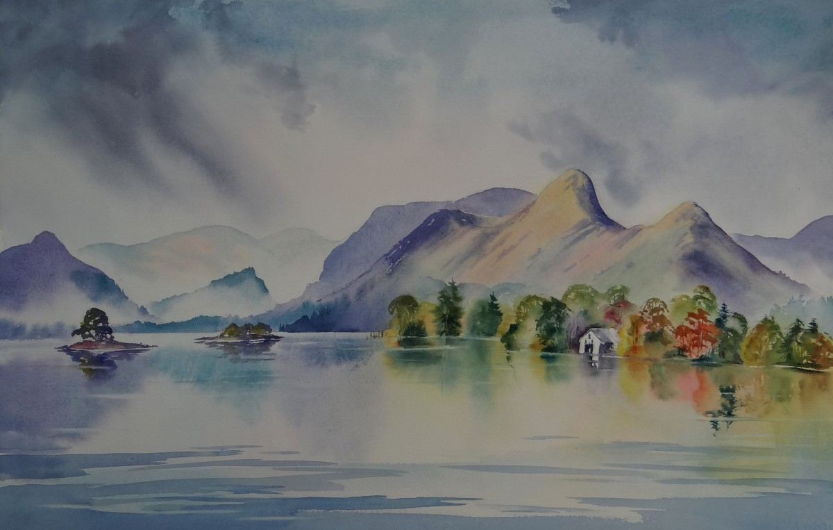 Catbells, Derwentwater Original watercolour
